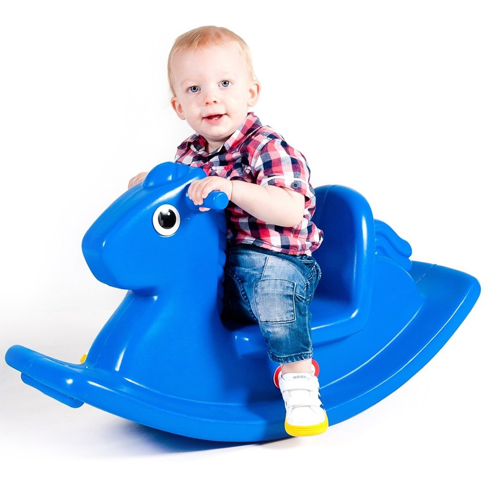 Koń na biegunach little tikes