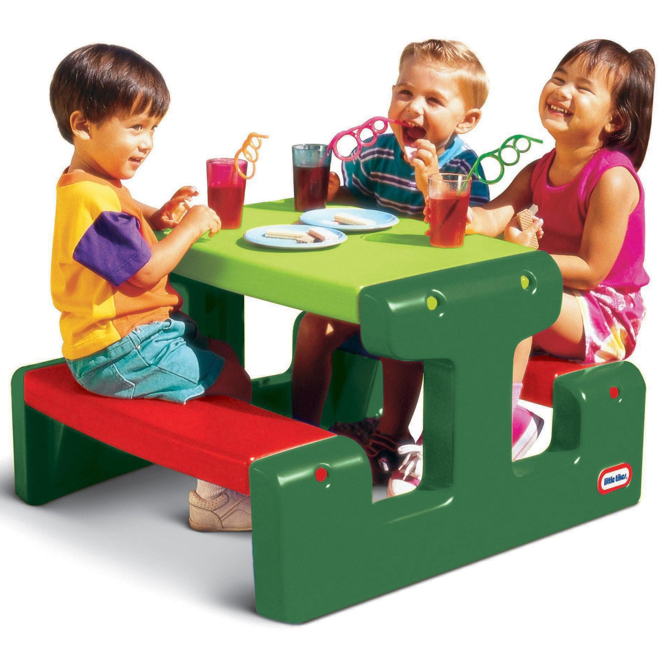 Stół piknikowy czer