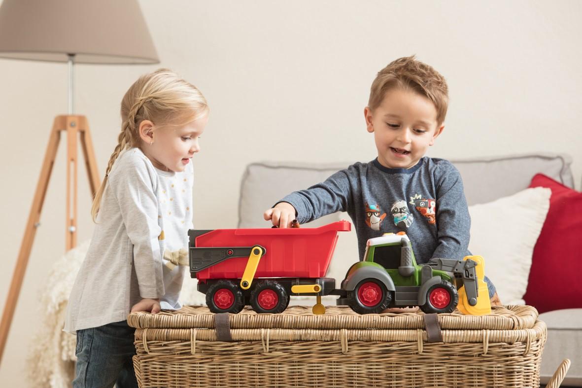 Dickie Happy Traktor Fendt