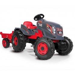 Smoby Ogromny Traktor XXL Stronger z Przyczepą