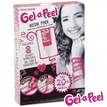 Gel-a-Peel Magiczny żel Zestaw tuba Neonowy Róż Zaprojektuj Oderwij Nałóż Reklama TV