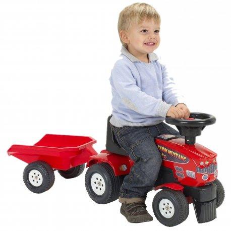 FALK Jeździk Traktor z Przyczepą Pchacz