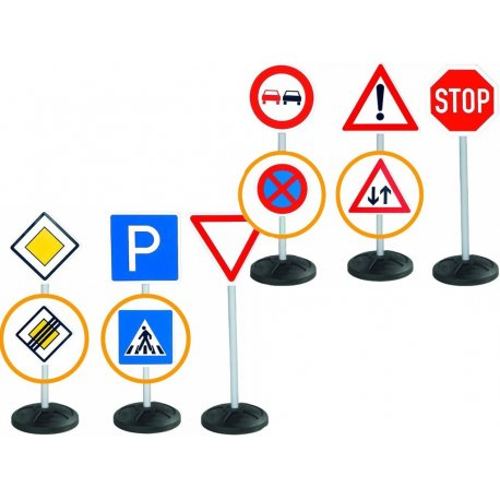 BIG Znaki drogowe Megazestaw