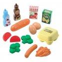 Ecoiffier Zestaw Produktów Spożywczych Torba