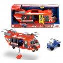 DICKIE Duży Helikopter ratunkowy 56cm Światło dźwięk + Auto