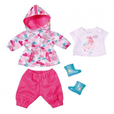 Baby Born Zestaw ubranek na deszczową pogodę