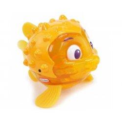 LITTLE TIKES Rybka do kąpieli świecąca i pływająca żółta