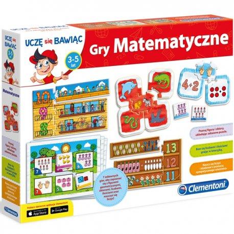 Clementoni Gry Matematyczne gra edukacyjna Nauka Liczenia