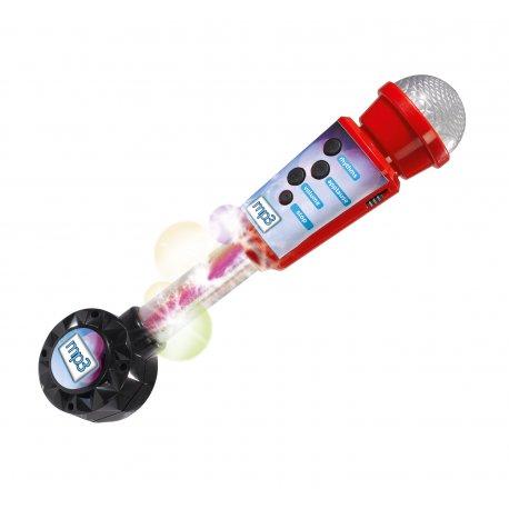 Simba Mikrofon na baterie światło dźwięk + możliwość podł. MP3