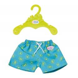 Szorty kąpielowe dla lalki Baby Born 43 cm w kolorze granatowym
