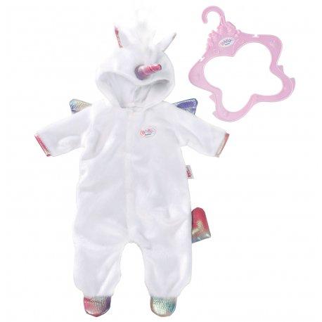 Piżamka Jednorożec dla lalki Baby Born 43 cm
