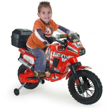 Injusa Dakar Sportowy motor na akumulator 6V