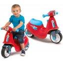 Jeździk skuter czerwony Smoby Ciche koła Scooter