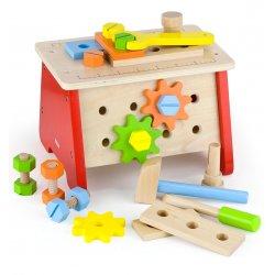 Warsztat stół majsterkowicza Skrzynka drewniana Viga Toys