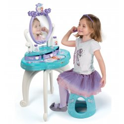 Smoby Toaletka Disney Princess 2 w 1 bezpieczne lustro Księżniczki taborecik