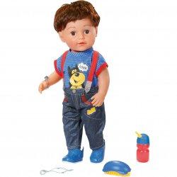 Lalka Braciszek interaktywna Baby born 43 cm chłopiec