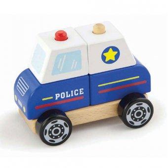 Viga Samochód Policyjny Policja klocki