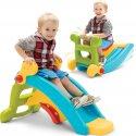 Fisher Price Zjeżdżalnia Bujak 2w1 Slide to Rocker plac zabaw