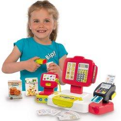 Elektroniczna Kasa Fiskalna dla dzieci Smoby Czerwona z Terminalem