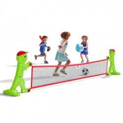 Step2 Siatka do Tenisa Badminton Dinozaur