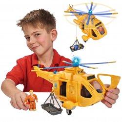 Simba Strażak Sam Helikopter Wallaby II z figurką