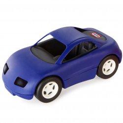 Niebieski samochód wyścigowy Little Tikes