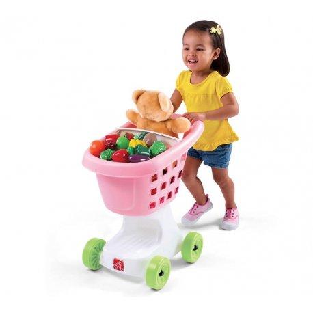 STEP2 Wózek na zakupy różowy Nowość