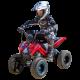 Injusa Sportowy Quad na akumulator 24V X-Treme Hunter