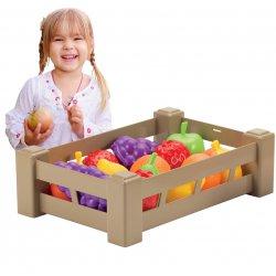 Ecoiffier Zestaw Owoców W Skrzyneczce do przedszkola