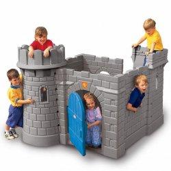 Little Tikes Klasyczny zamek ze zjeżdżalnią domek ogrodowy dla dzieci