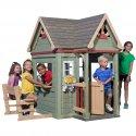 Drewniany Ogromny Domek Ogrodowy dla Dzieci Victorian Inn Backyard Discovery Step2