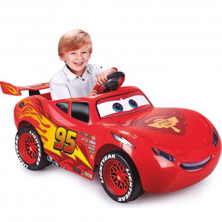 Feber Samochód na akumulator 6V dla dzieci Cars McQueen