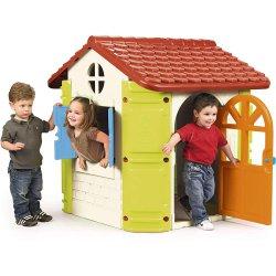 Feber Duży Domek Ogrodowy z Grillem dla Dzieci