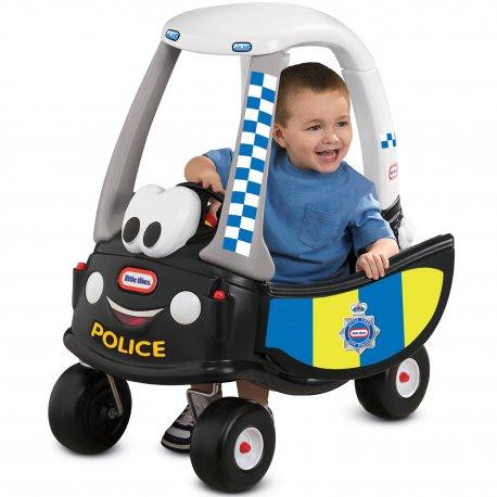 Little Tikes Jeździk Patrol Policji Samochód Cozy Coupe Radiowóz