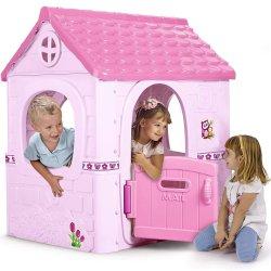 Domek Ogrodowy Dla Dzieci Różowy Feber Fantasy