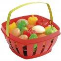 Koszyk z warzywami i owocami Ecoiffier