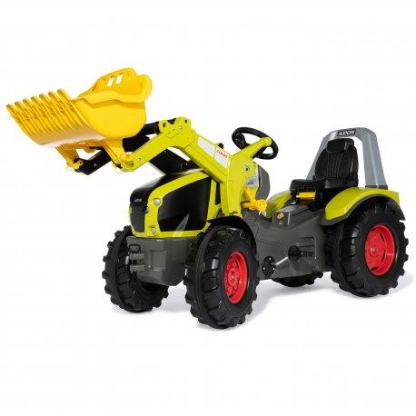 CLAAS Traktor na Pedały Łyżka Ciche Koła  3-10 Lat do 50kg Rolly Toys