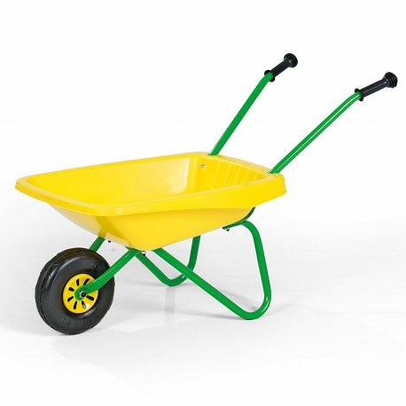 Rolly Toys Taczka Ogrodowa Budowlana Żółta do piasku