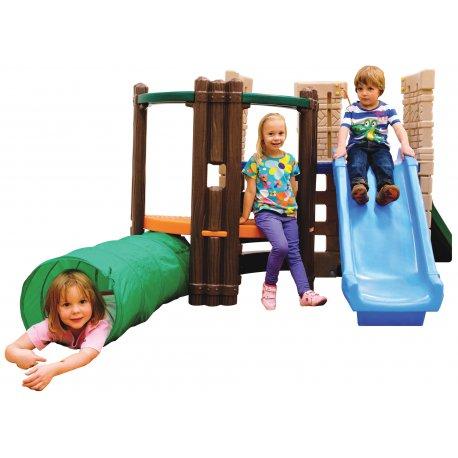 Plac Zabaw Przeplotnia ze Zjeżdżalnią Little Tikes
