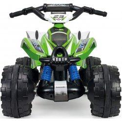 INJUSA Quad Kawasaki AVT 12V Ciche koła