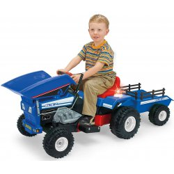 Traktor Na Akumulator Światło Dźwięk Injusa 12V