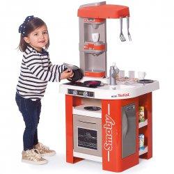 Duża Kuchnia Dla Dzieci 27 Akc. Tefal Studio Smoby