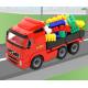 WADER VOLVO Samochód Ciężarówka Burty + 60 Klocków