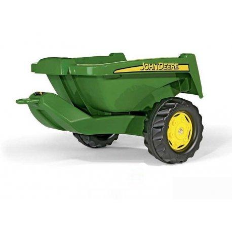 Rolly Toys Przyczepa Rolly Kipper czerwona do traktora John Deere