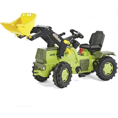 Rolly Toys Traktor na Pedały Farmtrack z Biegami Mercedes Benz 3-8lat + Łyżka