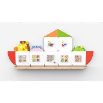 VIGA Zestaw Tablic edukacyjnych - Arka Noego