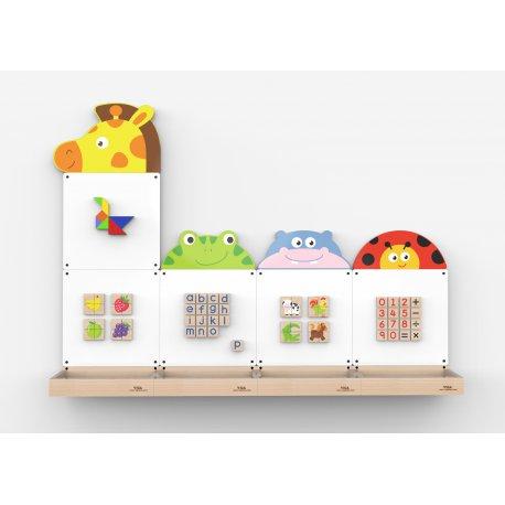 VIGA System Tablic edukacyjnych - Zwierzęta