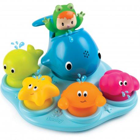 Zabawka Do Kąpieli Wesoła Wyspa Fontanna Smoby Cotoons