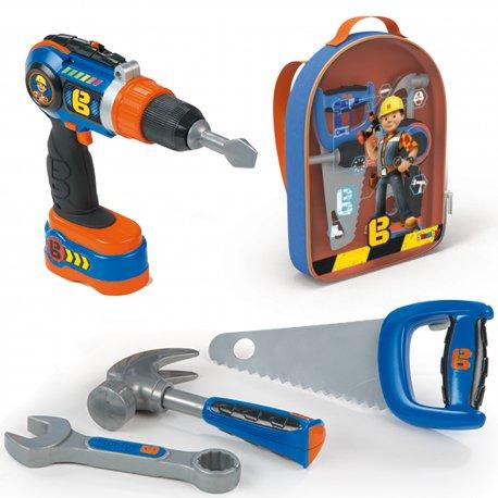 SMOBY Plecak z narzędziami - Bob Budowniczy
