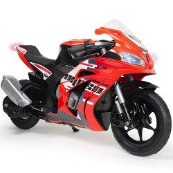 Motor Elektryczny 24V Pompowane Koła Injusa Racing Fighter